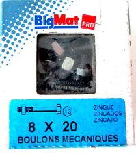BOULONS Mecanique  tete hexagonale 8X20 BIG MAT pas cher