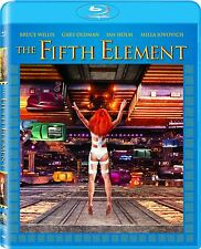 THE FIFTH ELEMENT  (1997 Dolby Atmos)   -  Blu Ray - REGION A - sealed