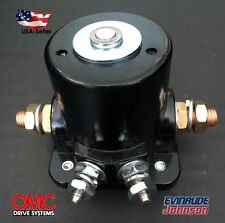 New Starter Solenoid Switch Johnson, OMC, Evinrude Outboard Motor