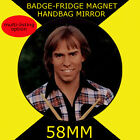Bay City Rollers -Derek Longmuir- 58 mm BADGE-FRIDGE MAGNET-BAG MIRROR