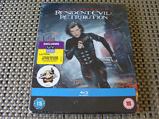 Blu Steel 4 U: Resident Evil - Retribution Limited Edition Steelbook & UV Sealed