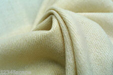 C168 MADE IN ITALY LUXURIOUS WOOL & CASHMERE LIGHT NATURAL IVORY COLOUT TONES
