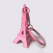 20× Eiffel tower keychain,pink color,cute key ring,lovely souvenir,cute keyring