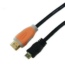 15Ft Mini HDMI to HDMI Cable For Sony Canon Nikon Samsung Panasonic Camcorders