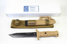 GERMAN EICKHORN INFANTRY DESERT COMMAND 1 COMBAT KNIFE WITH SHEATH ! SALES PRICE
