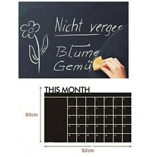 This Month Chalkboard Vinyl Wall Sticker Removable Blackboard Decal Home Decor