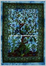 Mandala Blue Tree Of Life Wall Hanging Tapestry Throw Dorm Decor Indian Tapestry