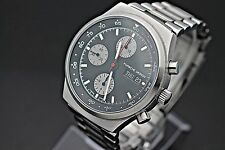 ETERNA Porsche Design Day Date Chronograph Valjoux 7750 Men's Sport Watch MINT