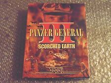 PC PANZER GENERAL III SCORCHED EARTH SSI 2000 11+ BIG BOX