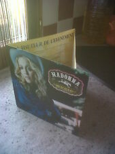 PLAN MEDIA MADONNA (PRESS KIT) MUSIC BON DE PRECOMMANDE PRE ORDER 3 PAGES