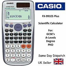 CASIO FX-991ES FX991ES PLUS Advanced Scientific Calculator -for A-Level & Gcse's