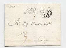Y322-DUCATO DI MILANO DA CHIAVENNA A COMO VIA MILANO 1767
