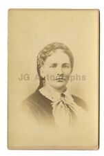 19th Century Fashion - 1800s Cabinet Card Photograph - Aldrich of Littleton, NH