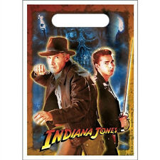 Indiana Jones Birthday Party Treat Bags 8 Pcs very hard to find!!