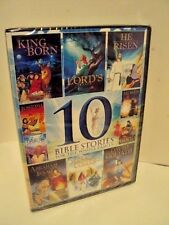10-Bible Stories For The Whole Family (DVD) BRAND NEW DVD- FAMILY- ANIMATED DVD