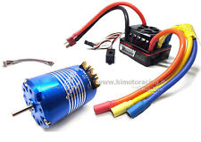 COMBO ROCKET BRUSHLESS CLASSIC 540 10.5T STOCK SPEC 3mm ESC 120A 1/10 SENSORATO