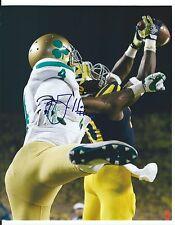 Jeremy GALLON Signed Wolverines UNDER THE LIGHTS 8x10 TD CATCH Photo #2