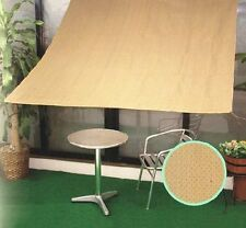 Shatex 8ftx12ft 90% UV Block Sunscreen Shade Panel Patio/Window/RV Awning W/ Gr