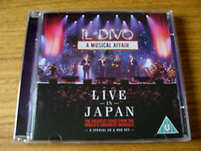 CD Double: Il Divo : A Musical Affair Live In Japan : Tokyo 2014 CD & NTSC DVD