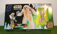 STAR WARS THE POWER OF THE FORCE WAMPA & LUKE SKYWALKER 3.75 INCH SCALE