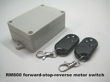 MSD 12V 20A 2-pole reversible forward-stop-reverse motor remote controller