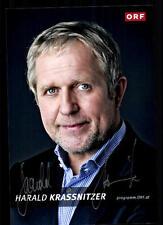 Harald Krassnitzer ORF Foto Original Signiert ## BC 35338