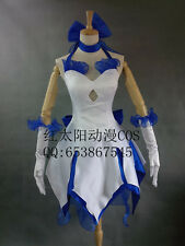 Fate Zero Cosplay Saber lily Sexy Girls Dress Cosplay Costume