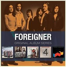 Foreigner - Original Album Series 5 CDs [New / Sealed]