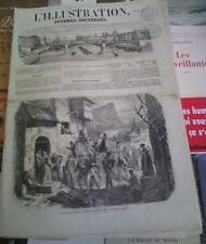 L'illustration n°635 28 avr 1855 voyage napoléon en angleterre pompier mulhouse