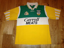 Offaly Match Worn GAA Gaelic Hurling Jersey Ireland 1997-98 All Ireland O'Neills
