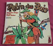 ROBIN DES BOIS / BLANCHE NEIGE  LP CONTES DE TOUJOURS VOL1  MAURICE PON