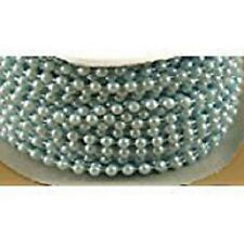 New blue  Spool of Pearls for baby shower /wedding decoration (24 yard long )