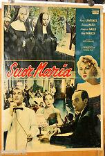 soggettone originale SUOR MARIA Nunzio Gallo Eva Vanicek Franca Marzi 1956