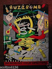 BUZZBOMB #1- KAZ, '87 Fantagraphic Books 1st PB Edition *V.Rare+OOP! *RAW *BLAB