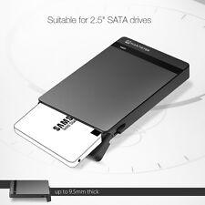 """MantisTek Mbox2.5 Tool-Free USB 3.0 SATA HDD&SSD Enclosure 2.5"""" UASP SATA III"""