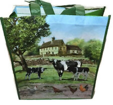 2 X THE FARMYARD COW  SHOPPING / TOTE BAG.