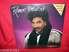 ROBERT BROOKINS In the night LP 1986 USA Sealed