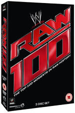 WWE: Raw - The Top 100 Moments in Raw History (Box Set) [DVD]