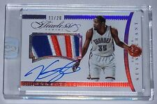 2014-15 Panini Flawless Kevin Durant Auto Game Patch #/20 Golden State Warriors