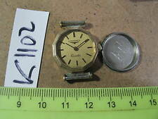 Vintage LONGINES Swiss Quartz LADY Good dial Parts Watch AsIs