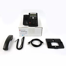 Polycom SoundPoint IP 331 SIP VoIP PoE Business Telephone Phone Set - Top Refurb