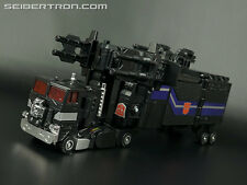 G1 Transformers Nucleon Quest Super Convoy Black God Ginrai C-307X (Prime)
