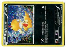 PROMO POKEMON CARD FRANCAISE MAC DONALD N&B 2013 HOLO N° 10/12 BAGGIGUANE ......