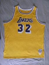 Mitchell Ness M&N L.A. Los Angeles Lakers Magic Johnson Authentic Jersey 56 3XL