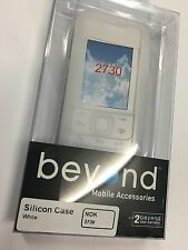 Nokia 2730 Silicon Case Clear White LTS-NOK2730. Brand New in Original packaging