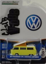 1974 VW Volkswagen Typ 2 II Westfalia Campmobile 1:64 Greenlight V-DUB Club
