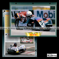 #056.09 Fiche Moto Pilote ROLF BILAND Side-Car Vitesse Motociclo Motorcycle Card