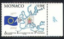 Monaco 2002 Academy/Philately/Map/Flag/Coat-of-Arms/Europe/Animation 1v (n38941)