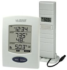Home Weather Station Wireless Temperature And Humidity Monitor Digital Time