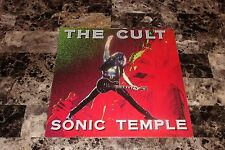 The Cult Rare Sonic Temple Vinyl LP Record Ian Astbury Billy Duffy German Import